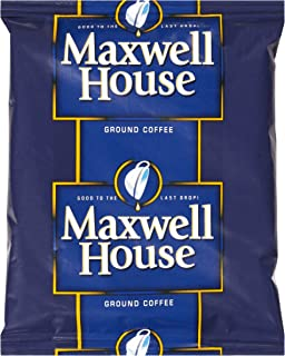 Maxwell House Cafe Roast Ground Coffee for OCS (1.5 oz Bags, Pack of 42)