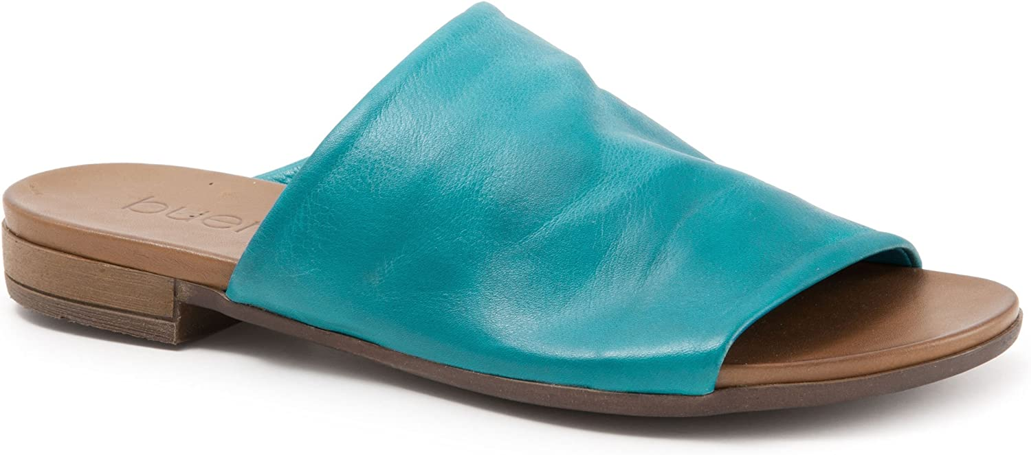 BUENO Women's Turner in Turquoise Leather