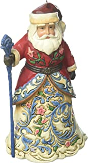 Jim Shore Heartwood Creek Norwegian Santa Stone Resin Hanging Ornament, 4.6""