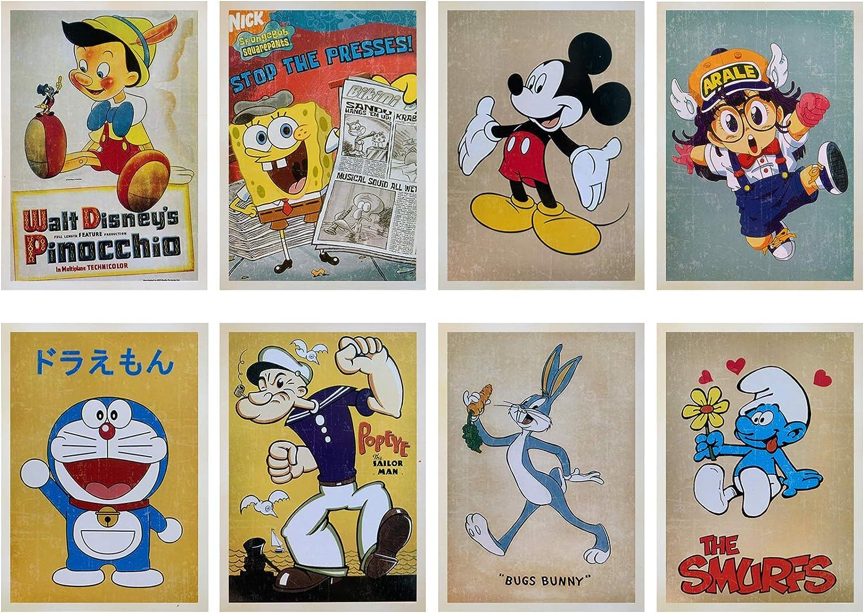 carte postale classique r/étro nostalgie theFIU cartes postales panoramiques /à collectionner des salutations 32 pi/èces 1 jeu de cartes postales de voyage vintage r/étro de la vieille Europe
