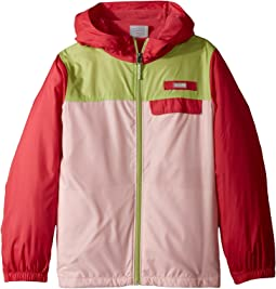 Columbia Kids - Mountain Side Lined Windbreaker (Little Kids/Big Kids)