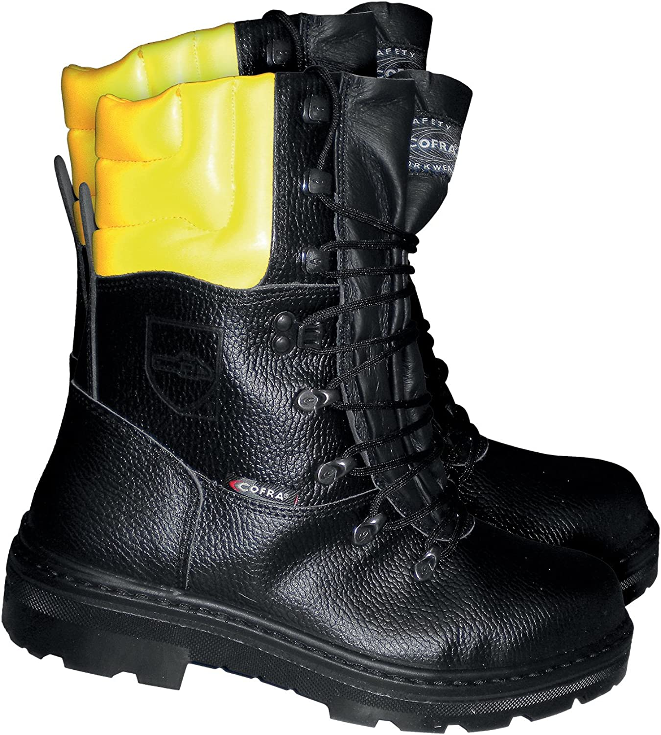 Cofra cut predection boot Woodsman BIS forestry boot with saw predection, black, 25580-000, 40, Black