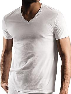 DKNY Men's 3 Pack V-Neck Tee Shirt