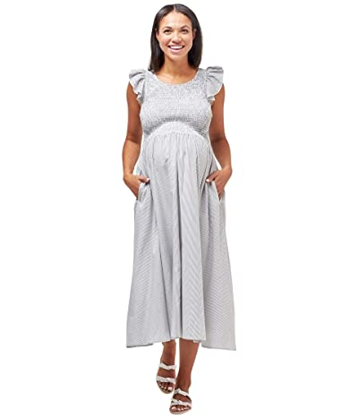NOM Maternity Harper Smocked Maternity Dress