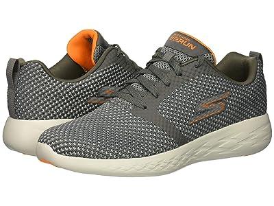 SKECHERS Performance Go Run 600 55082 (Charcoal/Orange) Men