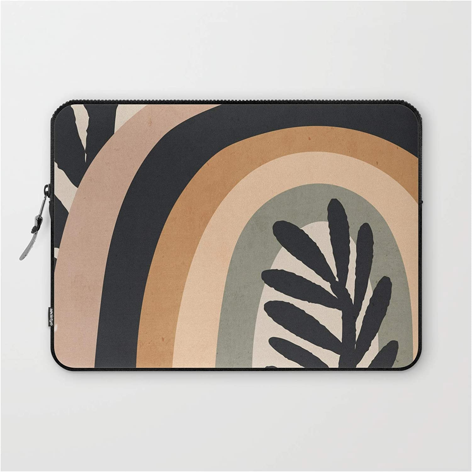Abstract Art Rainbow 2 by - Colorado Springs Mall Laptop on Thingdesign Sleeve Genuine Free Shipping