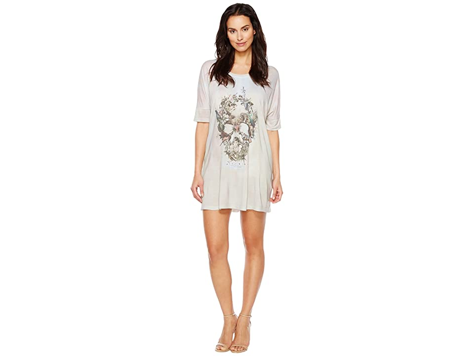 Religion Stand Out Dress (Skull Illusion Print) Women
