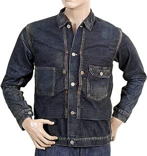 Mens 1930s Washed Denim Work Jacket CANE2986