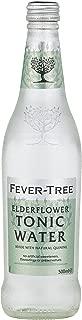 Fever-Tree Elderflower Tonic Water, 16.9 Fl Oz Glass Bottle (8 Count)
