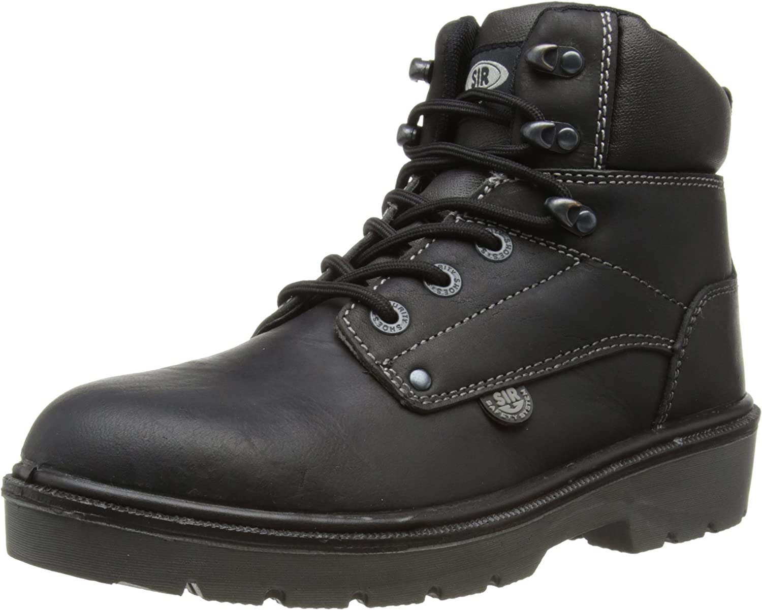 SIR Safety Unisex-Adult Road High Safety Boots 26030 Black 6 UK, 40 EU