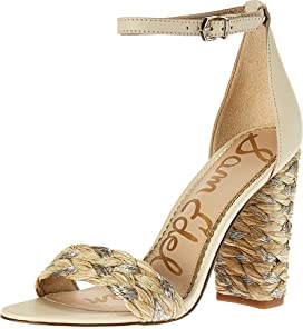 6acff87f55f7 Sam Edelman Yaro Ankle Strap Sandal Heel at Zappos.com