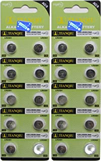 AG9 936A SR936SW LR936 LR45 SR45 SR93 Button Cell Batteries [20-Pack]