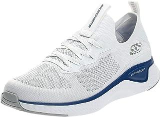 حذاء الجري على الطريق للرجال سولار فوس من سكيتشرز، متعدد الالوان (ابيض/ ازرق)، 44.5 EU