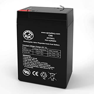 Werker WKA6-5F 6V 5Ah Sealed Lead Acid Battery - This is an AJC Brand Replacement