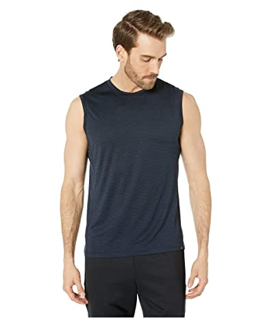 Prana Hardesty Sleeveless (Black Stripe) Men