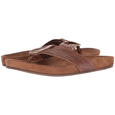 John Varvatos Collection Almada Woven Sandal (Brownstone) Men