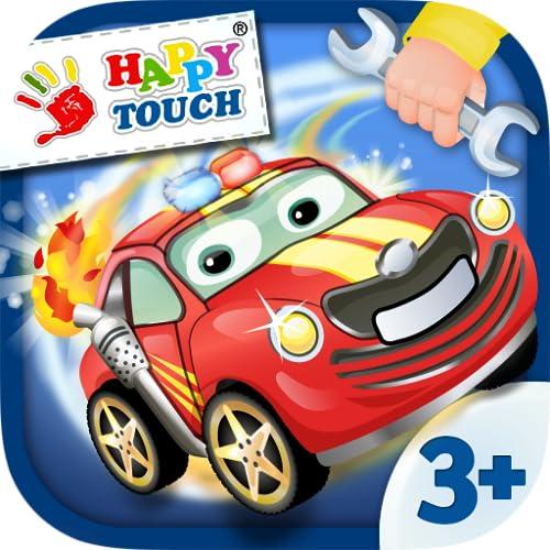 Autos Bauen - Kinderspiel von Happy-Touch® Gratis