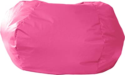 Gold Medal Bean Bags Gold Medal Microsuede Bean Bag, Extra Large, Hot Pink