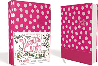 NIV, Beautiful Word Coloring Bible for Girls, Leathersoft over Board, Pink: Hundreds of Verses to Color
