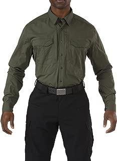 Tactical Men's Stryke Long Sleeve Work Shirt, Teflon Treated, Flex-Tac Fabric, Style 72399T