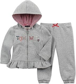 355dcde83b5ff Tommy Hilfiger Baby Girls 2-Pc. Zip-Up Hoodie & Pants Set