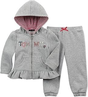 Baby Girls 2-Pc. Zip-Up Hoodie & Pants Set
