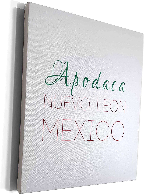 3dRose Alexis Design - Mexican Leon Nuevo Cities Deluxe Award Apodaca nati