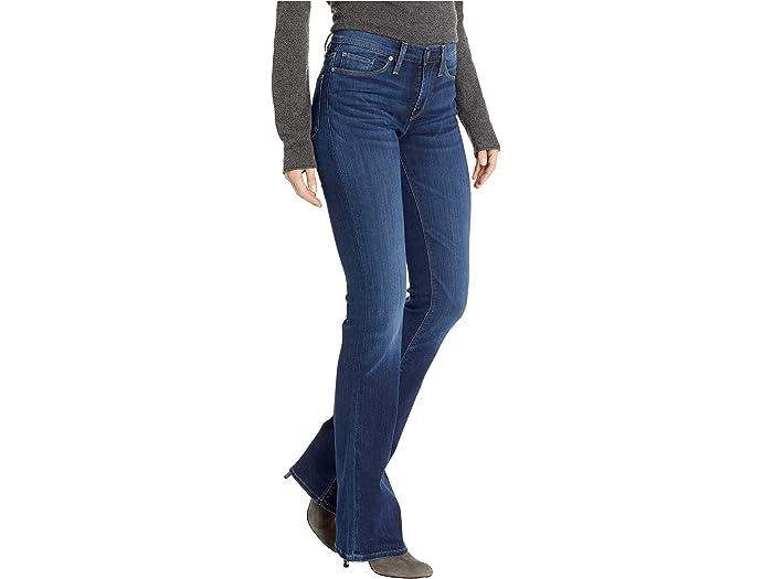 HUDSON Womens Drew Mid Rise Bootcut Jean