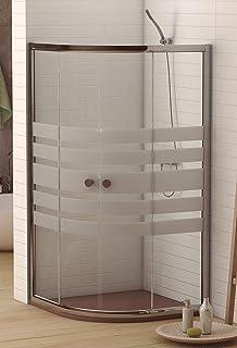 Amazon.es: mampara ducha semicircular