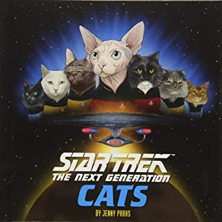 Star Trek: The Next Generation Cats: (Star Trek Book, Book About Cats)