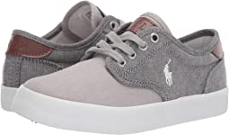 Grey Chambray/Canvas/White Pony