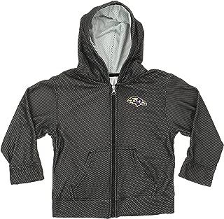 Outerstuff NFL Boys Kids/Youth Fleece Full Zip Hoodie, Various Teams