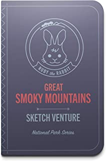 My Sketchventure Kids Smoky Mountains Book of National Park Connect Children to Nature with Art, Learn About Plants and Animals, Drawing Activities - Clingmans Dome, Fontana Lake, Meigs Falls