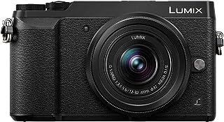 Panasonic Lumix DMC-GX80KEGK Kit Fotocamera Mirrorless GX80 e Obiettivo 12-32mm, Sensore MOS 16 MP, Foto e Video 4K, Stabilizzatore Dual IS, Nero
