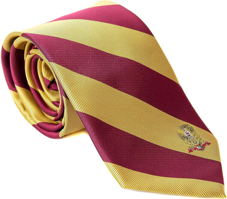 Kappa Alpha Order Fraternity Necktie Tie Greek Formal Occasion Standard Length Width KA (Striped Crest Necktie)