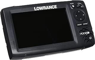 Lowrance Hook-7 Base Sonar/GPS Mid/High/Downscan Fishfinder