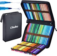 80 Colors Art Markers Set, Ohuhu Dual Tips Coloring Brush Fineliner Color Marker Pens, Water Based Marker for Calligraphy ...