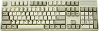 Leopold FC900R PD Mechanical Keyboard with Cherry MX Brown Switch (White Case, White/Grey PBT Doubleshot Keycaps, 104 Keys, ANSI/US)