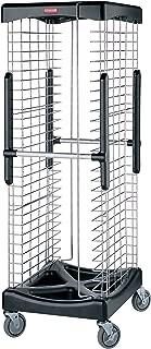 Rubbermaid Commercial FG9F9700BLA ProServe Enclosed Pan Racks, 300-Pound Load Capacity, Black