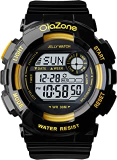 Teen Girls Digital Sports Watch Teen Young Waterproof 100FT Three Alarm Gifts for Age 12-20