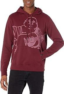 True Religion Men's Oversized Buddha Pullover Hoodie Dye Hooded Sweatshirt