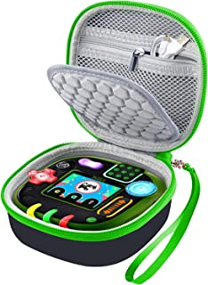COMECASE Case for Leapfrog Rockit Twist Handheld Learning Game System, Perfect Toy Box Storage for Kids Children - Green