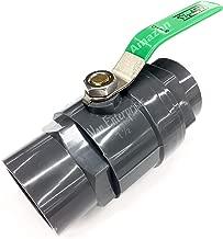 Best 1.5 ball valve pvc Reviews