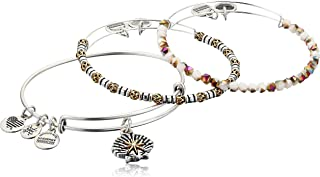 Alex and Ani Star of Venus Set of 3, Two-Tone Bangles