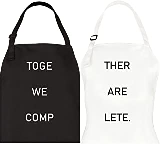 Best his and hers kitchen aprons Reviews