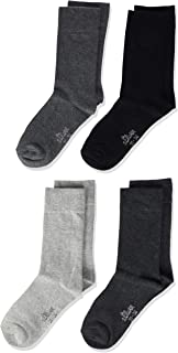 Calcetines para niño, pack de 4, talla 27-30, multicolore(Light Grey, Dark Grey, Anthracite, Black)