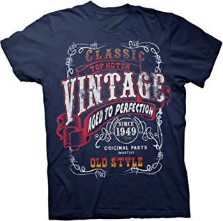 70th Birthday Gift Shirt - Vintage 1949 Aged to Perfection - Sturgis