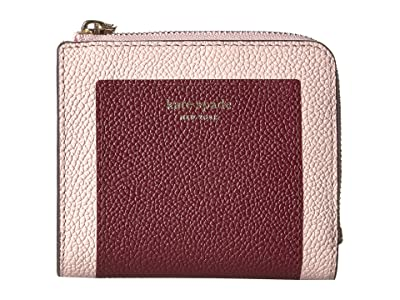 Kate Spade New York Margaux Small Bifold Wallet (Cherrywood Multi) Bi-fold Wallet