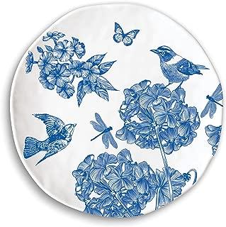 Michel Design Works Dinner Plate, Indigo Cotton