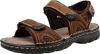 Men's Sandals Outdoor Open Toe Water Beach Sandal Leather Sport Sandal